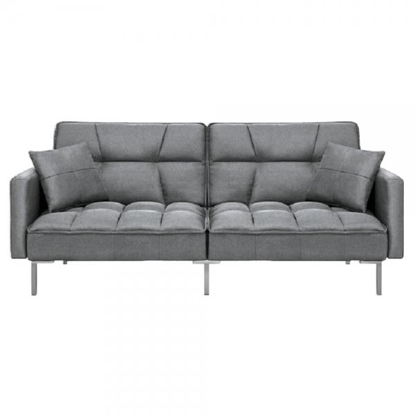 Canapea extensibila Fluffy, cu 3 locuri, din textil, 191cm - Siart