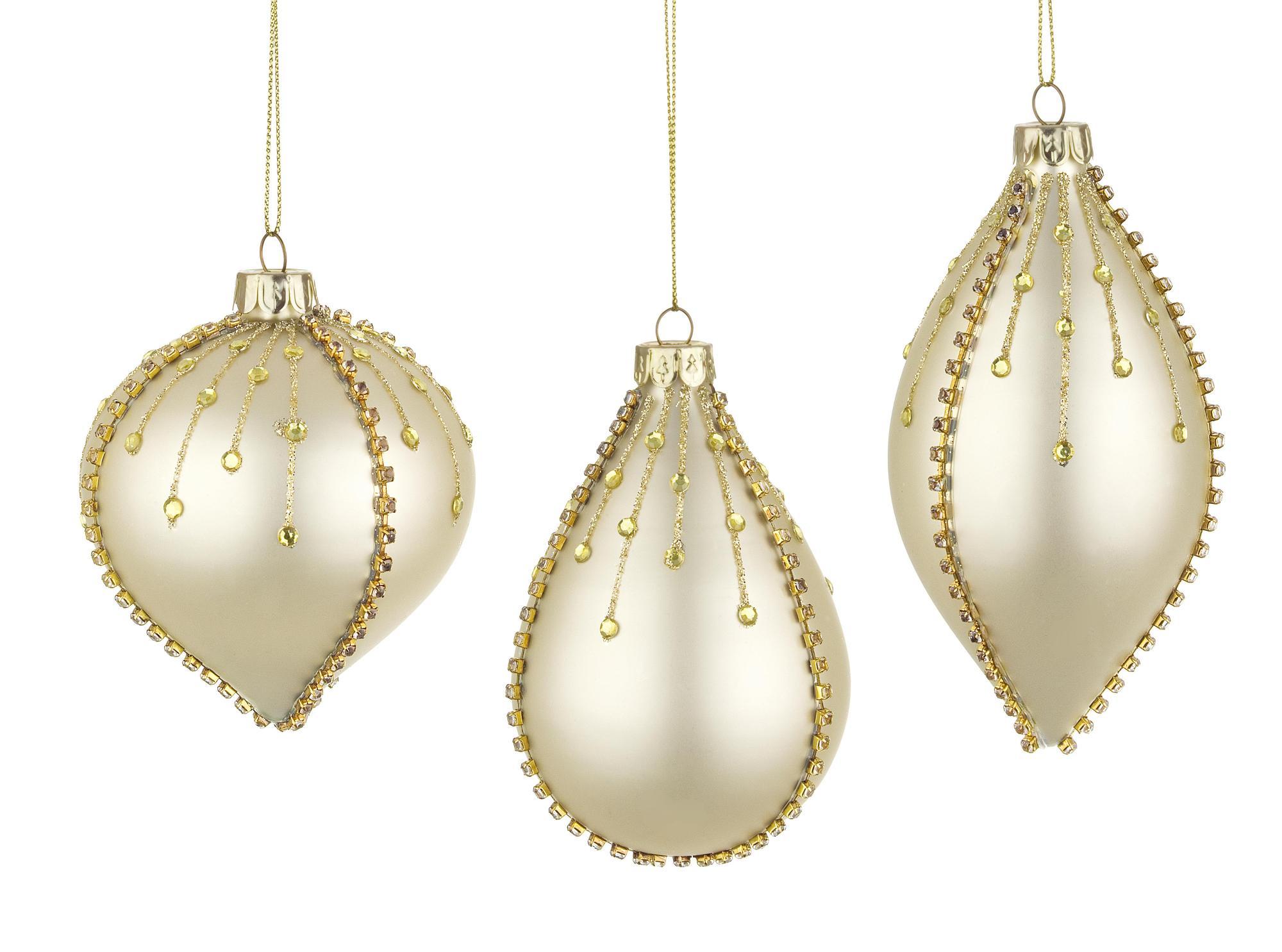 Set 3 bucati ornamente decorative - Siart